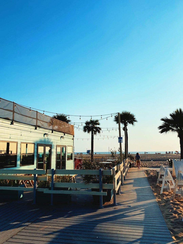 Palmer och ett mysigt strandhäng i Los Angeles
