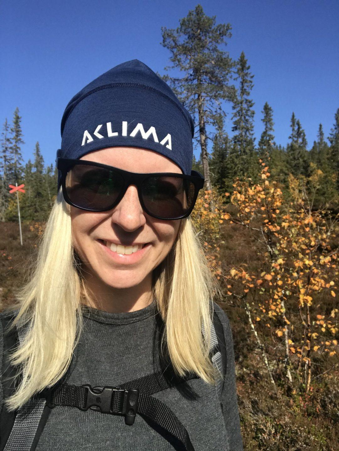Pernilla Axelsson vandrar i Sälenfjällen