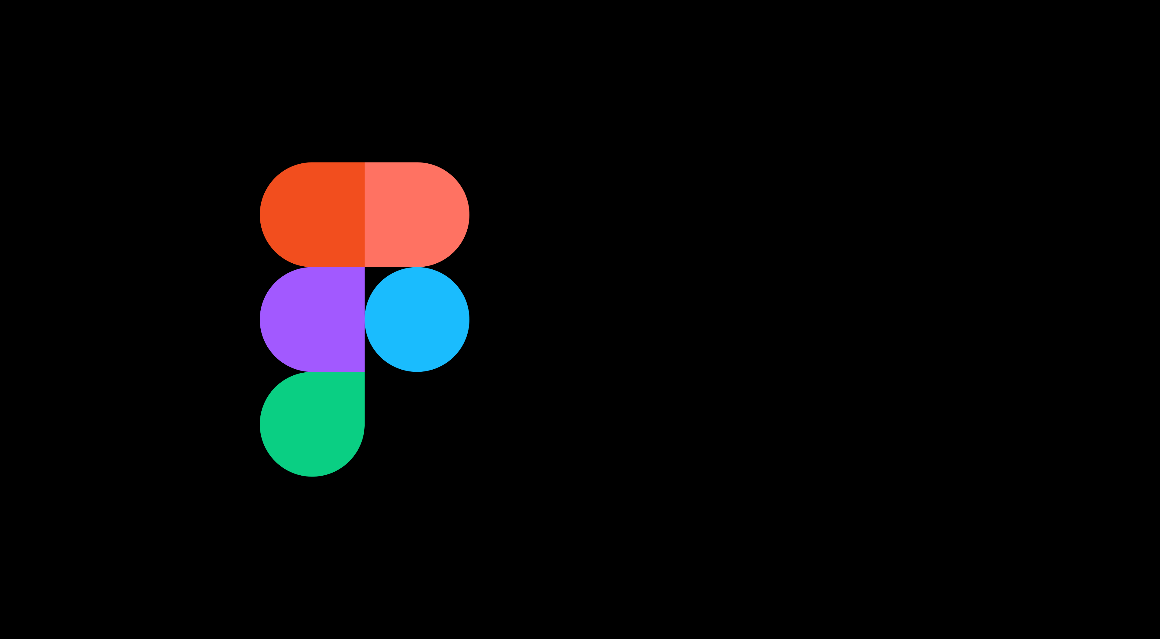 Figmas logotyp mot en svart bakgrund