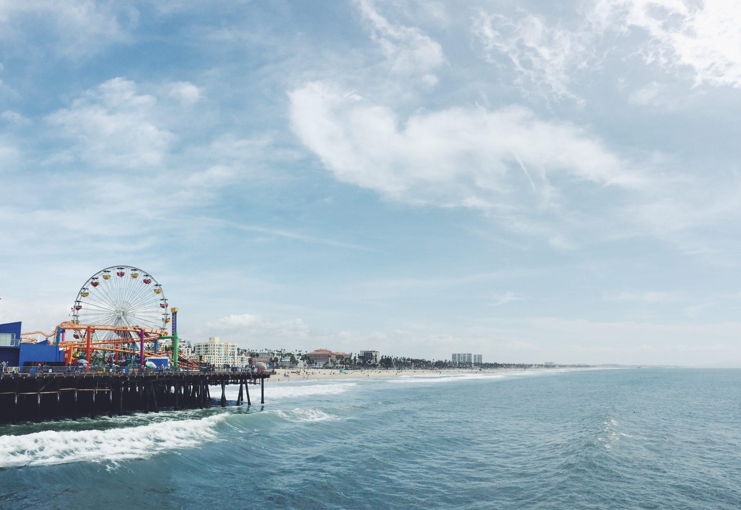 Stranden i Los Angeles